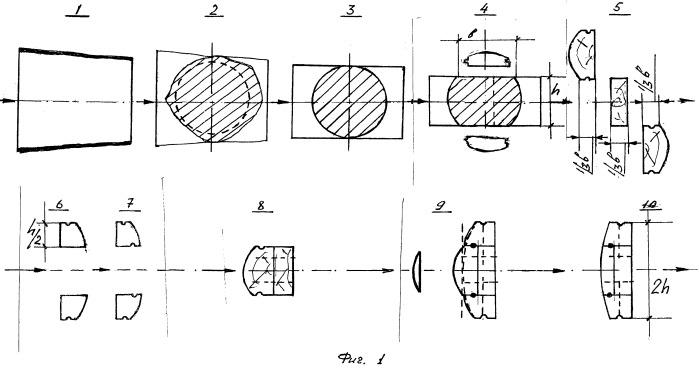 Способ изготовления опорно-ограждающих элементов стенового бруса из тонкомерного древесного сырья