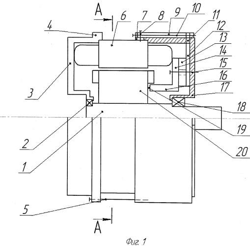 Индукторный синхронный генератор