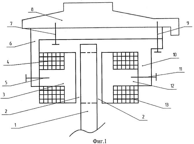 Автотракторный бесконтактный электрогенератор