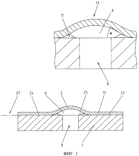 Микрофлюидаоьная тонкопленочная структура для дозирования текучих сред