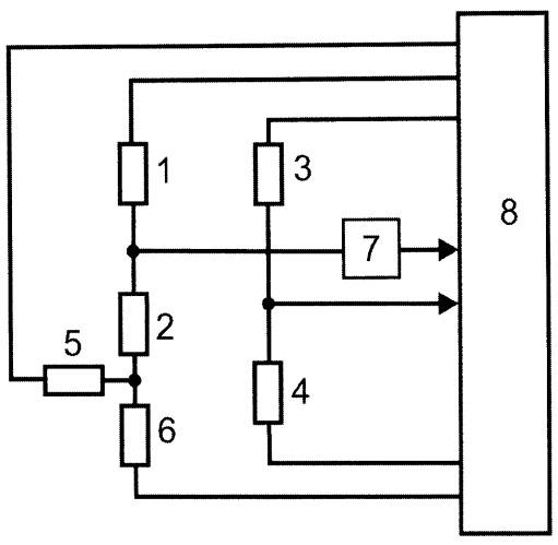 Микроконтроллерный измерительный преобразователь с уравновешиванием резистивного моста уитстона методом широтно-импульсной модуляции