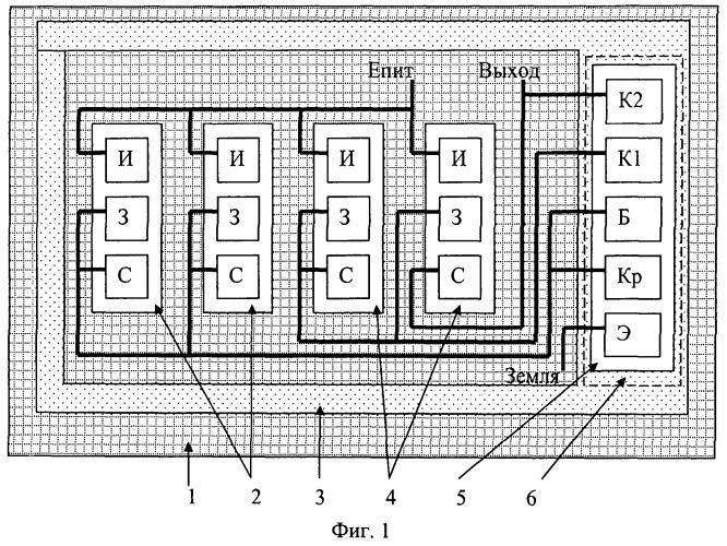 Ортогональный магнитотранзисторный преобразователь