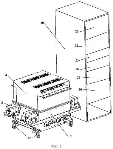 Установка для измерения собственной частоты колебаний роторов силовых гироскопов