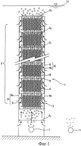 Мембранный модуль, мембранный блок и мембранное разделительное устройство