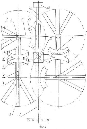 Ветроэлектрогенератор сегментного исполнения