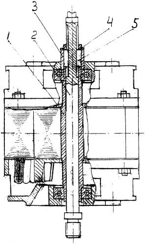 Передача движения от вала электродвигателя на шпиндель обрабатывающего станка