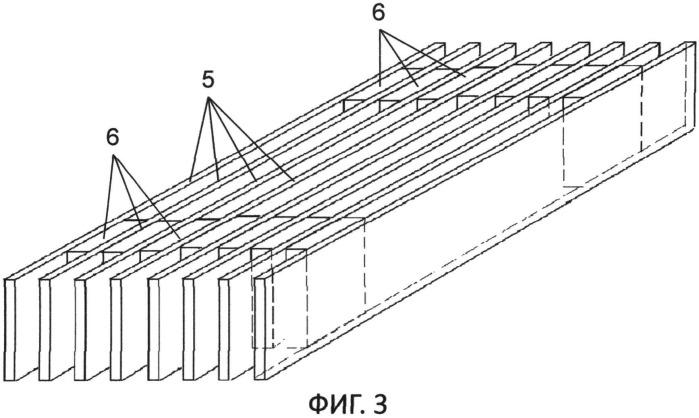 Ячеистый наполнитель из бамбука для слоистых панелей (варианты), бамбуковая планка для этого наполнителя (варианты) и способ изготовления этой планки (варианты)