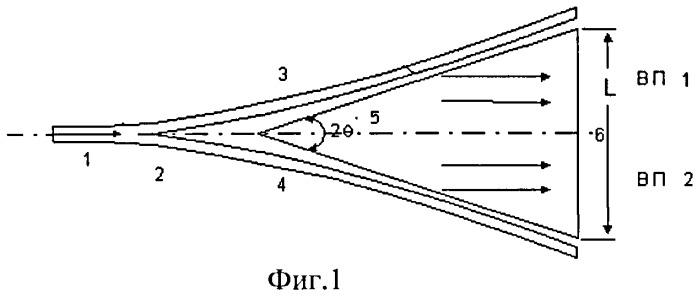 Диэлектрический планарный излучатель