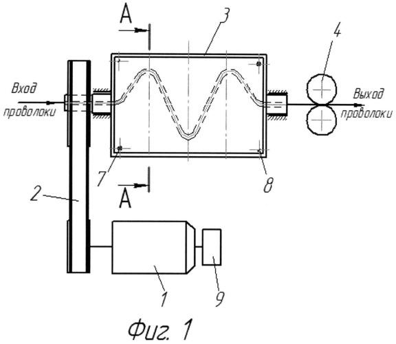 Устройство для правки проволоки малых диаметров