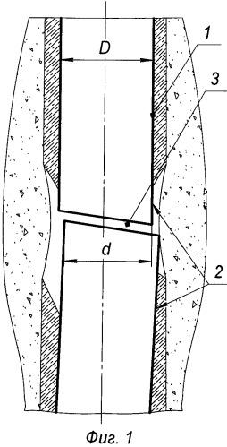 Способ ремонта скважины с дефектным участком со смещением обсадной колонны