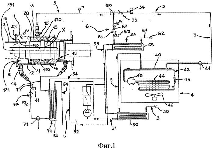 Раструбная установка для формирования раструбов на концах труб, выполненных из термопластичного материала, и способ формования раструба на конце трубы, выполненной из термоплостического материала