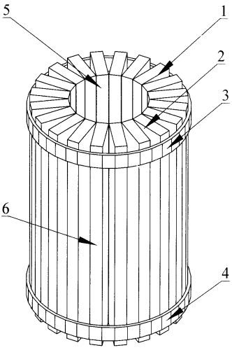 Фильтрующий элемент щелевого фильтра