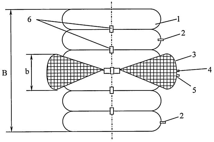 Пневмобаллонная крепь