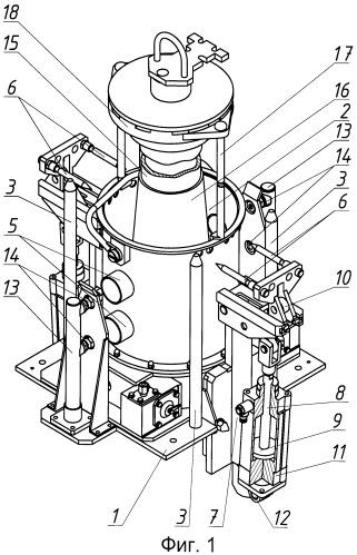 Устройство для удаления осадка мох-топлива с катода электролизера