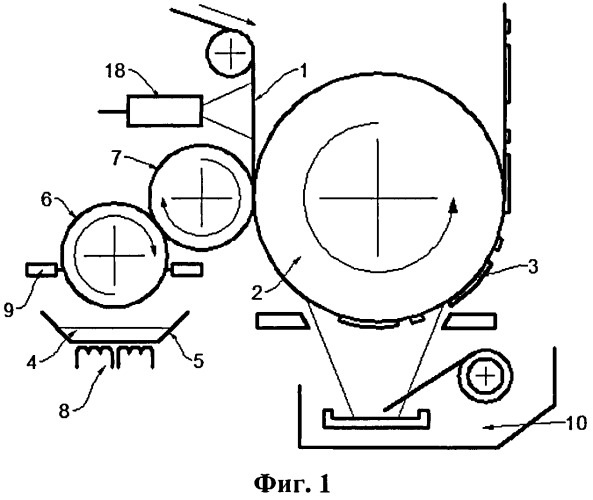 Способ изготовления электропроводящей поверхности на полимерном рулонном материале