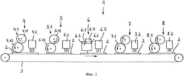 Способ и устройство для изготовления плитообразного изделия с имеющей декор поверхностью