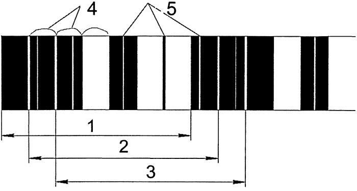 Кодовая рейка для электронного нивелира