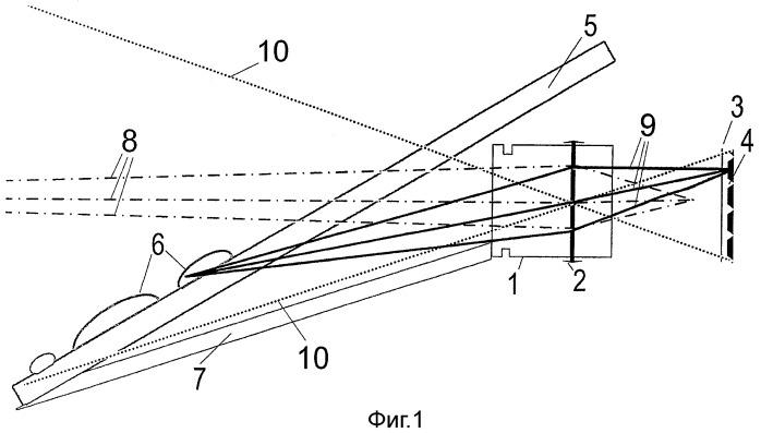 Оптический модуль с мультифокальной оптикой для регистрации дальней и ближней зоны в одном изображении