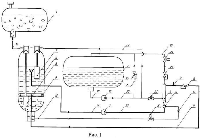Топливная система двигалетя внутреннего сгорания