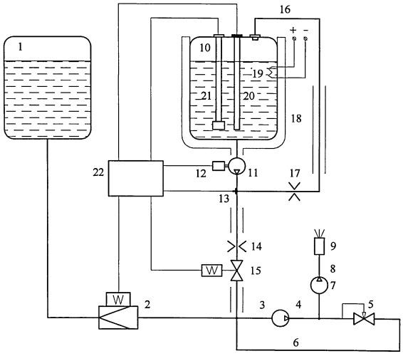 Установка получения водотопливной эмульсии