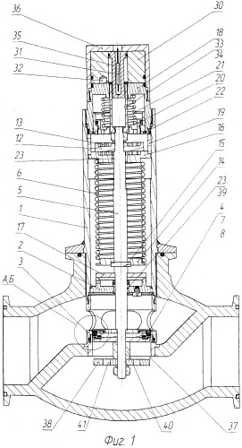Клапан перепускной дискретного действия с магнитной фиксацей, разгрузкой и контролем положения