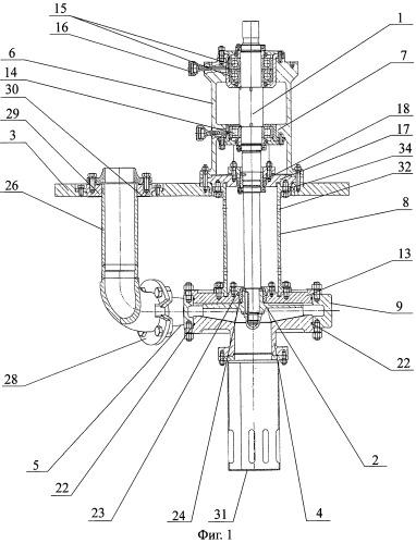 Химический вертикальный насос с рабочим колесом открытого типа