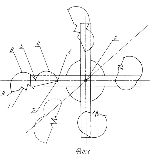 Роторный вертикальный ветродвигатель