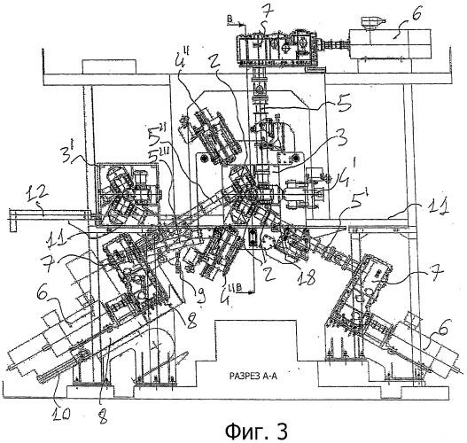 Клеть прокатного стана и соответствующий прокатный стан для продольной прокатки материалов стержневой формы