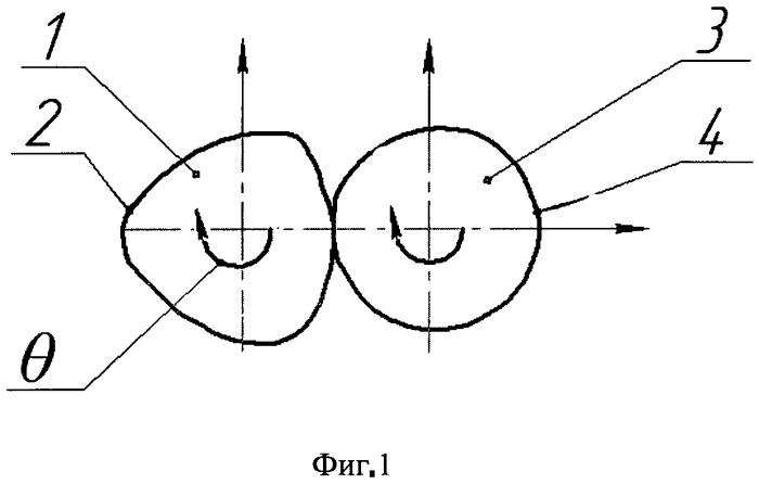 Способ обработки валов с равноосным контуром