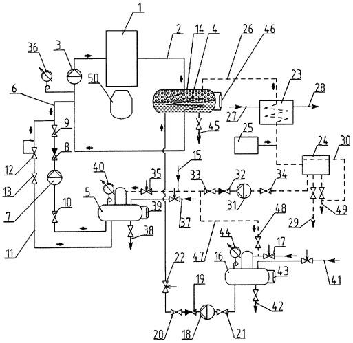 Система для охлаждения конвертерного газа