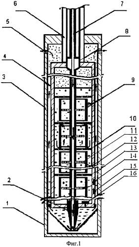 Устройство для тепловой обработки газогидратных залежей