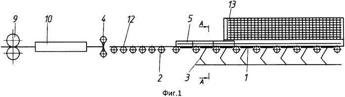 Устройство для электромагнитного торможения термоупрочненного ферромагнитного арматурного проката перед холодильником
