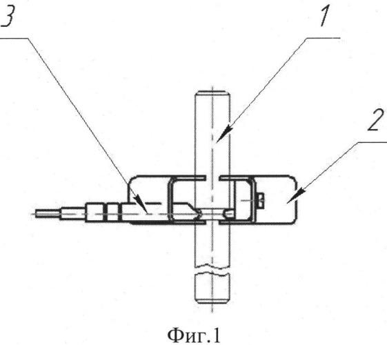 Способ контроля разрушаемых элементов устройства контроля схода подвижного состава