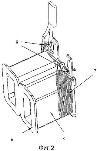 Синхронный электродвигатель с постоянными магнитами для дренажного насоса