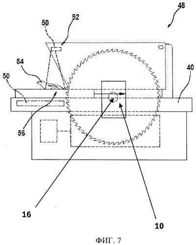 Технологическая машина с системой торможения