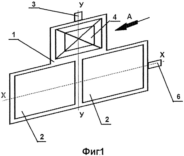 Способ автоматической ориентации солнечных батарей и устройство для его осуществления