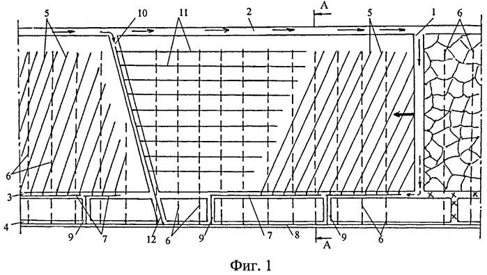 Способ дегазации мощного угольного пласта при его отработке по системе слой-пласт