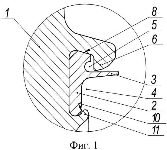 Ротор с компенсатором дисбаланса