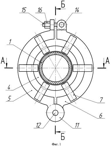 Быстроразъемное соединение гибких эластичных трубопроводов