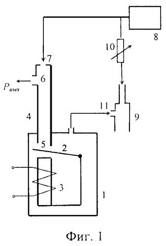 Способ преобразования электрического сигнала в пневматический