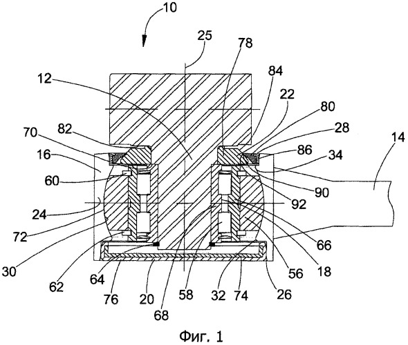 Соединительное устройство для соединения косилочного ножа с цапфой привода косилочного ножа