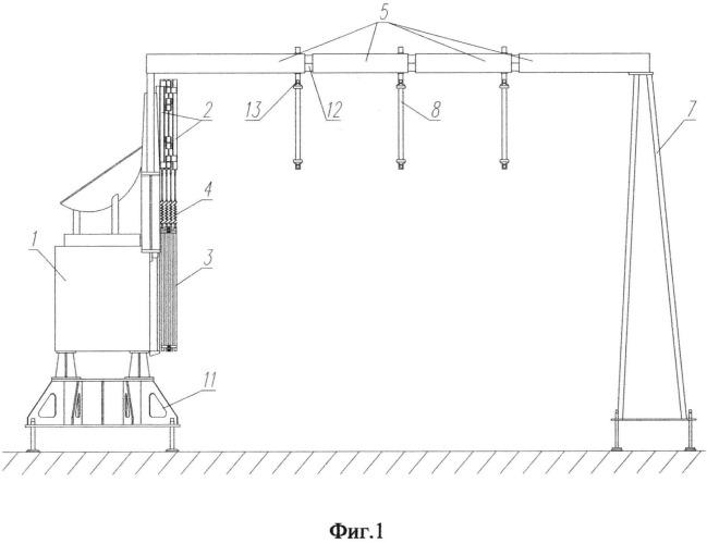 Способ испытаний многозвенной механической системы космического аппарата на функционирование и устройство для его осуществления