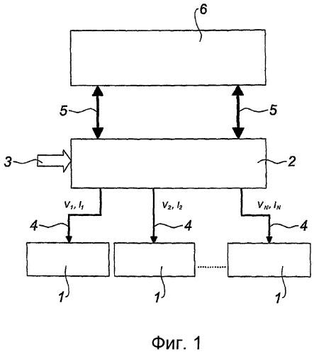 Электрическое противообледенительное устройство и соответствуюшая система контроля
