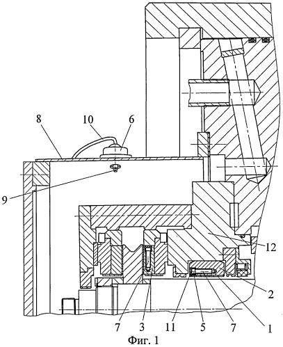 Беспроводная система измерения температуры опорных и упорных подшипников скольжения