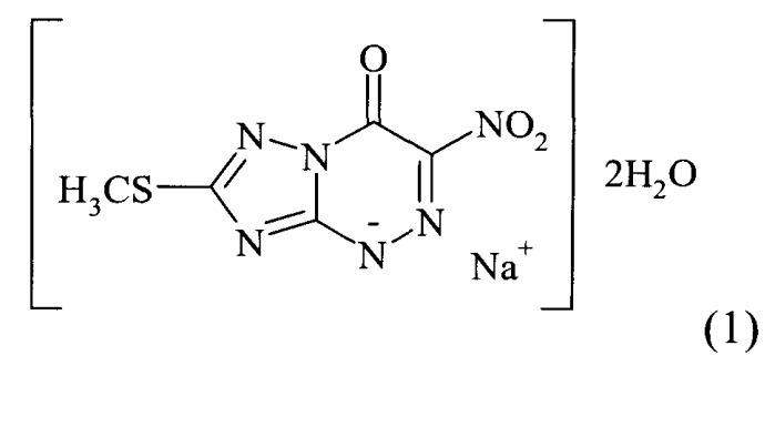 Конъюгаты 2-метилтио-6-нитро-1,2,4-триазоло[5,1-c]-1,2,4-триазин-7(4i)-она с глутатионом и другими пептидами, обладающие противовирусной активностью