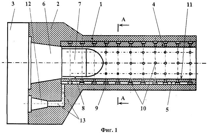 Способ газостатического центрирования снаряда и устройство для его осуществления