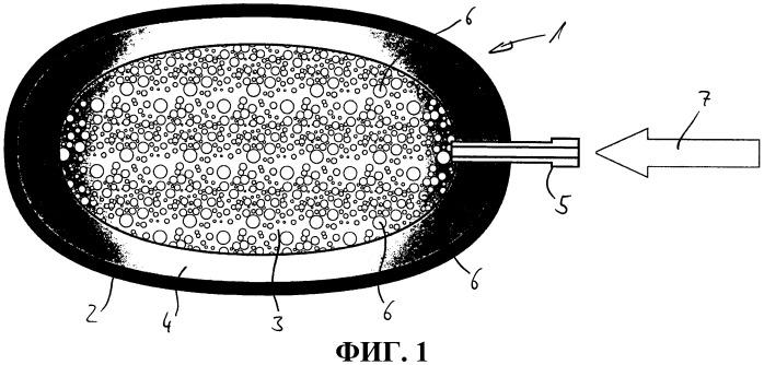 Подушка с амортизирующими свойствами