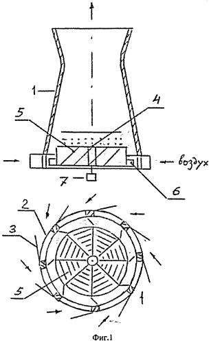 Аэродинамическая градирня
