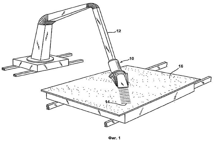 Устройство для резки и способ резки пряди волокон
