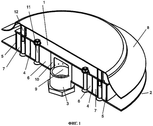 Редукционное воздушное сопло для высоконапорных вентиляционных систем